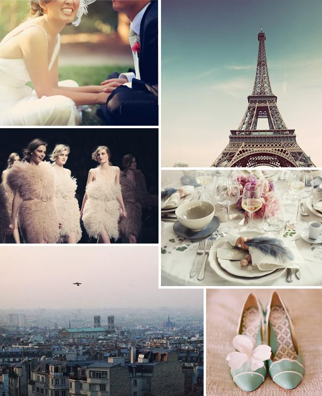 wedding inspiration paris honeymoon
