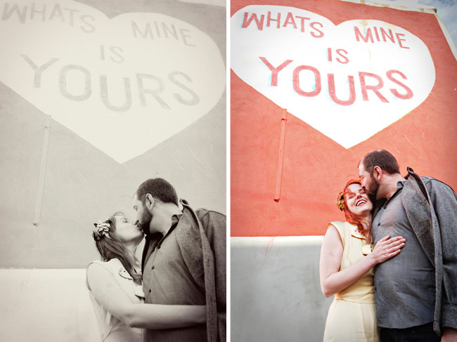 philadelphia murals engagement photos