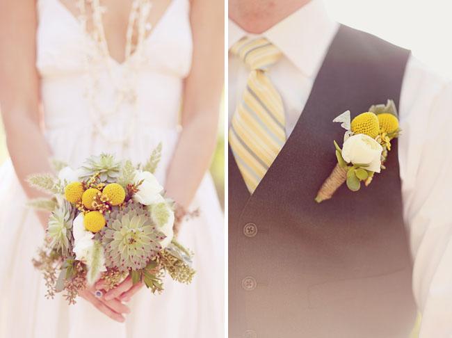 succulent bouquet boutonniere