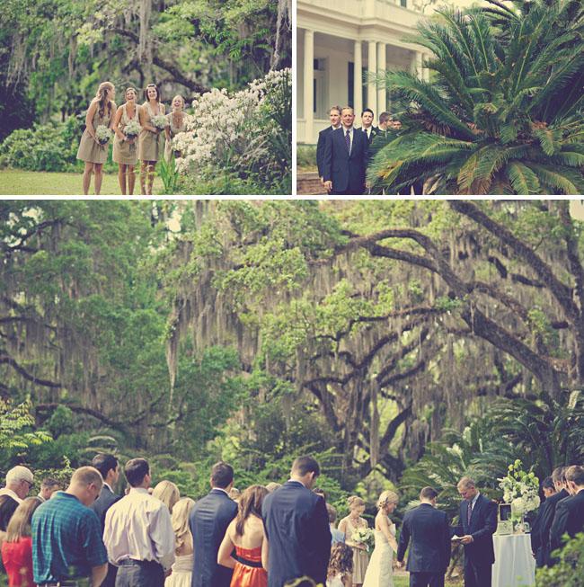southern wedding ceremony