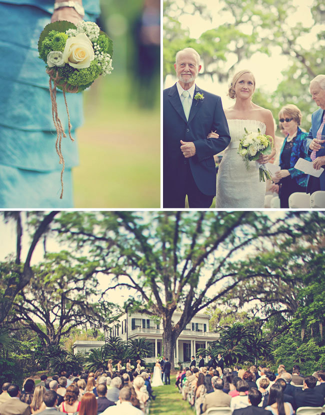 southern mansion wedding