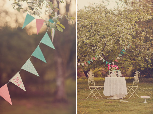 bunting tea party