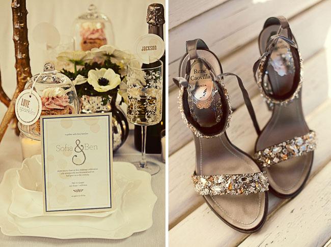 anemones wedding table