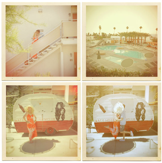 ace hotel palm springs anniversary photos