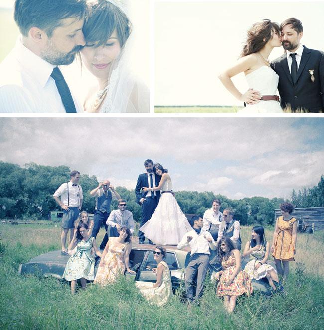 canada wedding fun photos