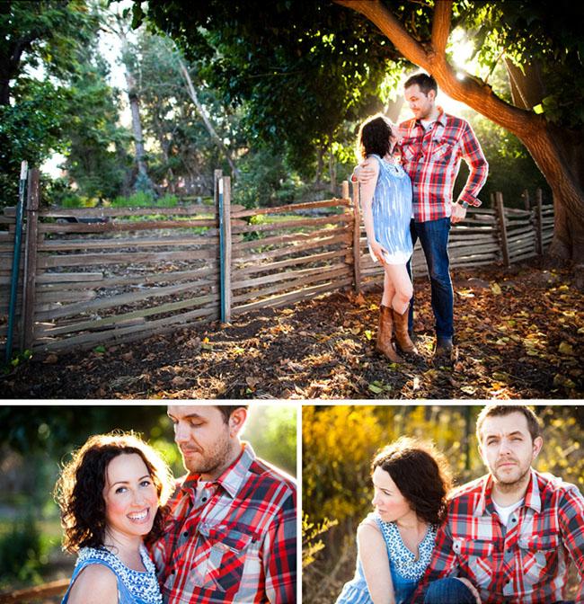 house engagement photos