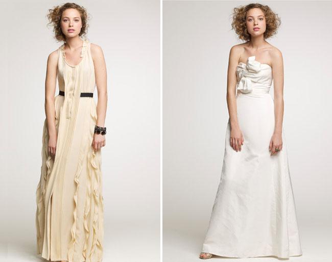 j crew wedding dresses 2010