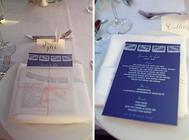 wedding menu mexican
