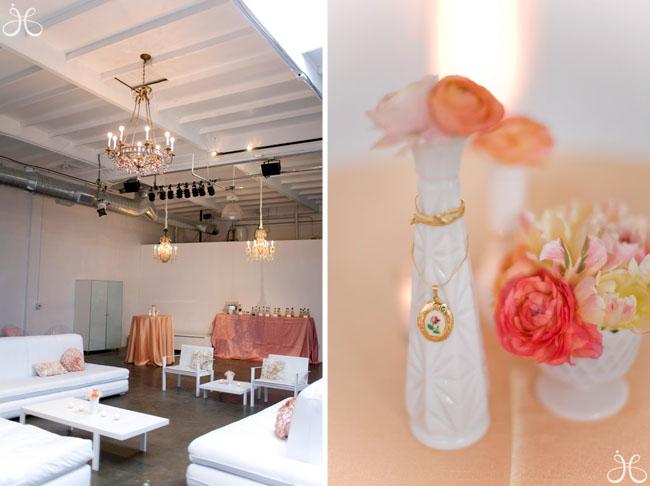 pink bridal shower art gallery