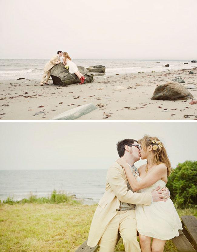 Laid Back Rhode Island Wedding Lisa