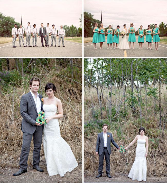 wedding party suspenders
