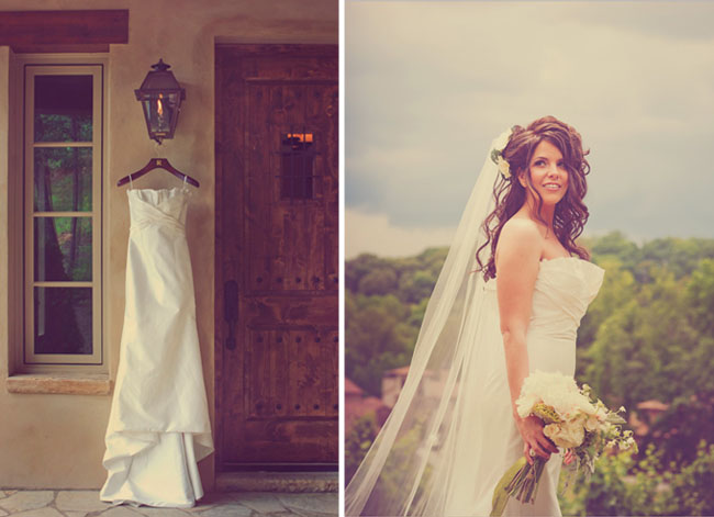 Real Wedding Melissa AJs Rustic Elegant Vineyard Wedding