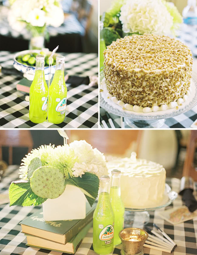 lime soda green decor