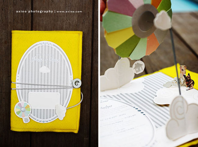 """Up Themed Wedding Invitations: An """"UP"""" Inspired Wedding"""