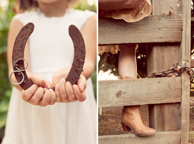 wedding horseshoe boots
