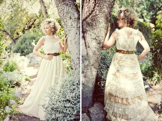 Romantic Woodsy Wedding Fashion | Green Wedding Shoes | Weddings ...