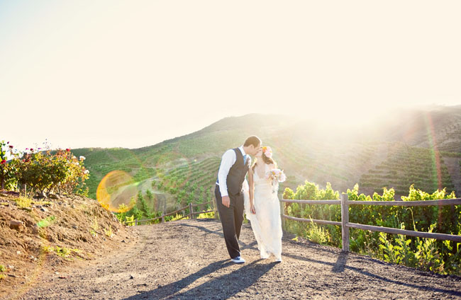 wedding vineyard