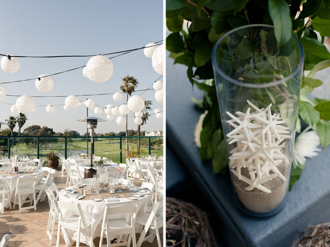 Beach Wedding Decorations White Flowers