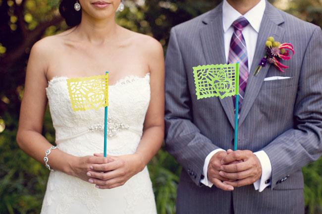 wedding flags