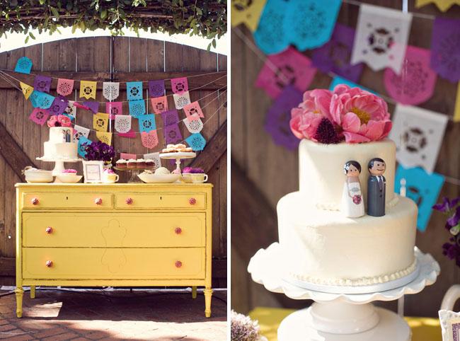 wedding cake wooden topper