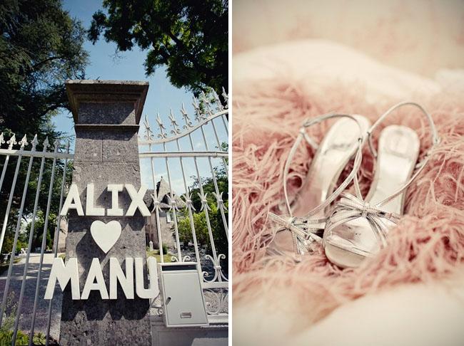 Alix + Manu's Romantic Countryside Wedding