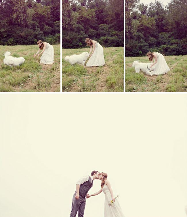 wedding on a farm