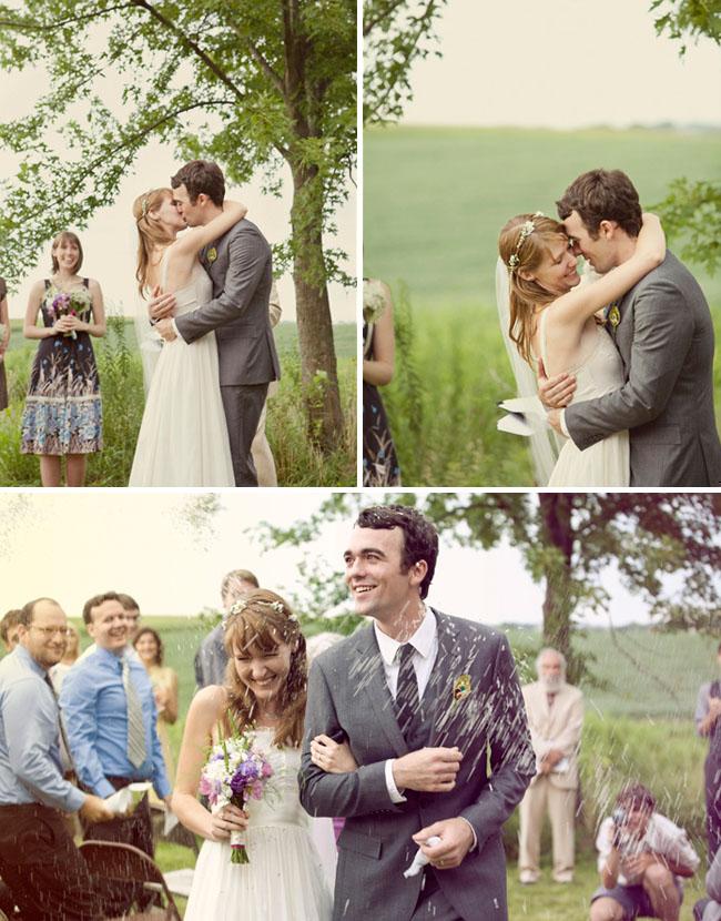 outdoor wedding iowa