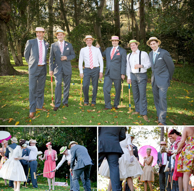 garden games wedding