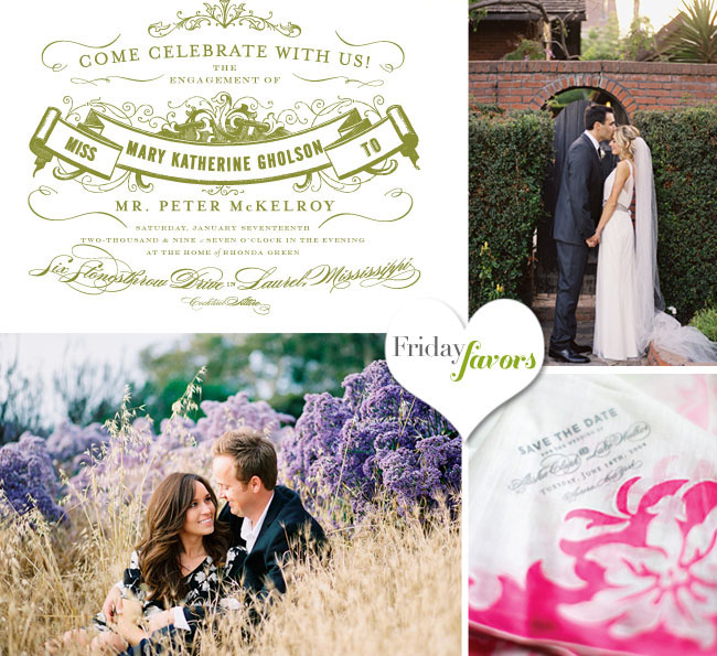 Wedding invitations and photography