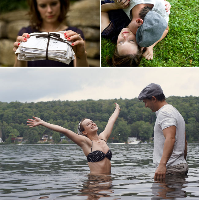 notebook movie inspired engagement photos