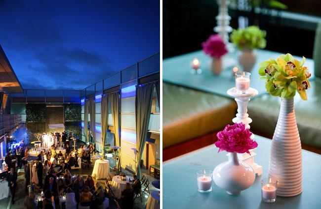 modern hotel wedding