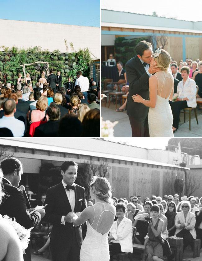 smog shoppe ceremony wedding