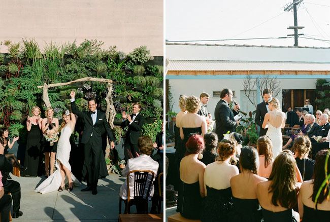 smog shoppe ceremony wedding
