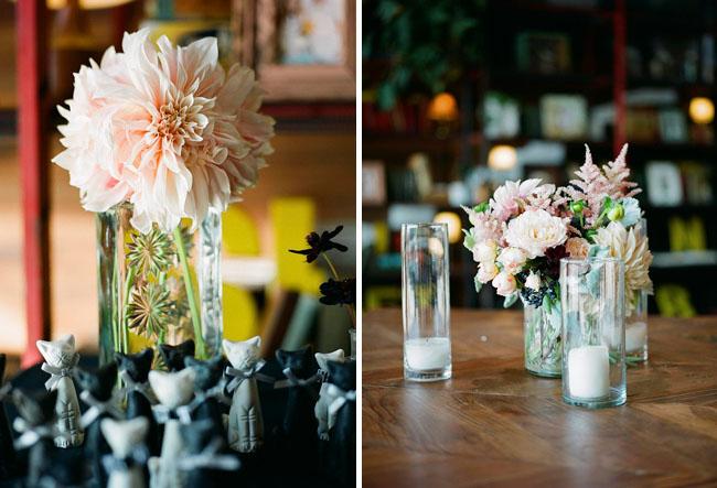 dahlia wedding reception smog shoppe