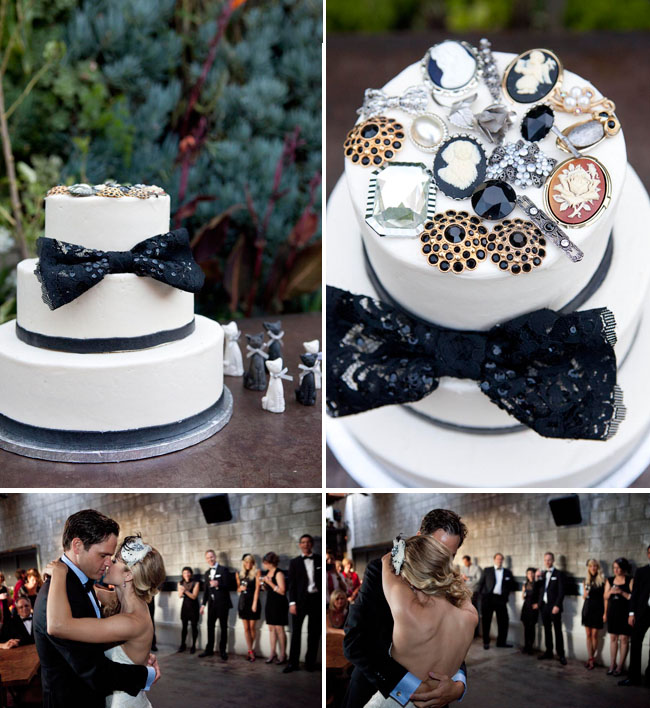 wedding cake vintage jewels