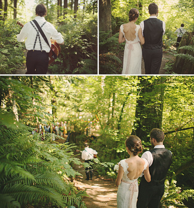 Amanda Liams Treehouse Point Real Wedding