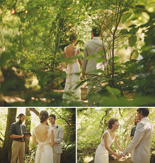 Amanda + Liam's Treehouse Point Real Wedding