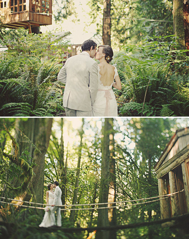 treehouse wedding photos