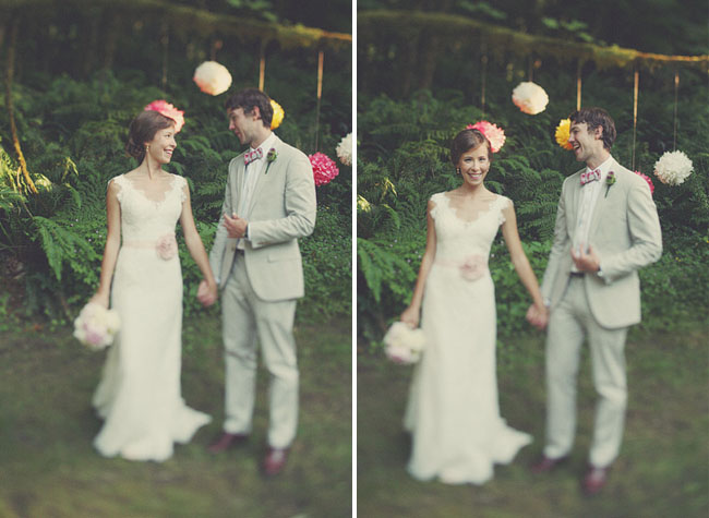 wedding pom poms