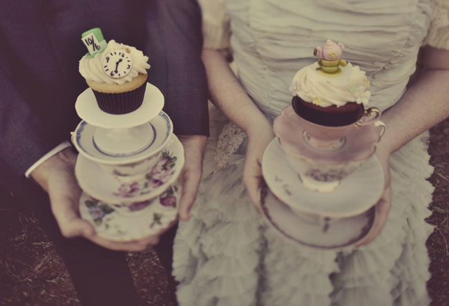 teacups and cupcakes