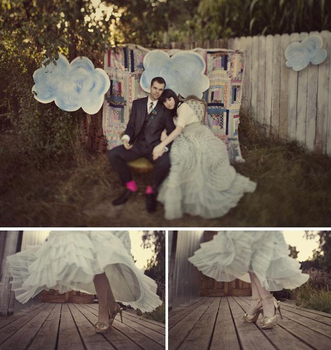 alice in wonderland engagement photos