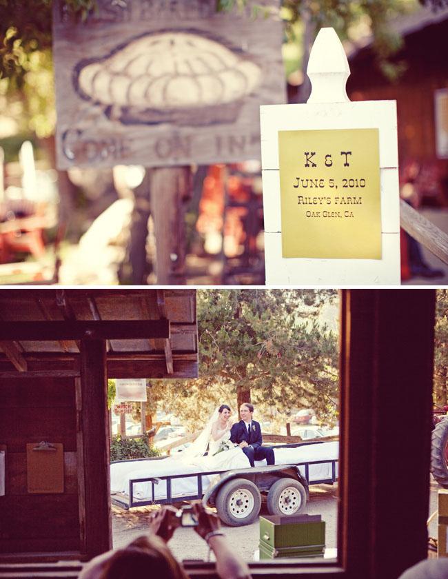 Rileys Farm wedding