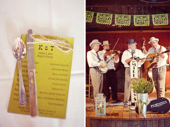 band at wedding