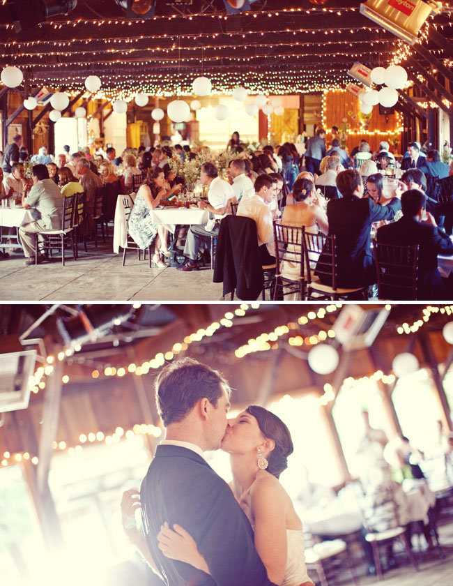 Rileys Farm wedding reception