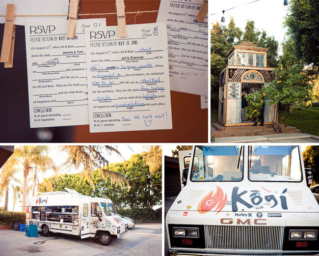 kogi truck wedding food