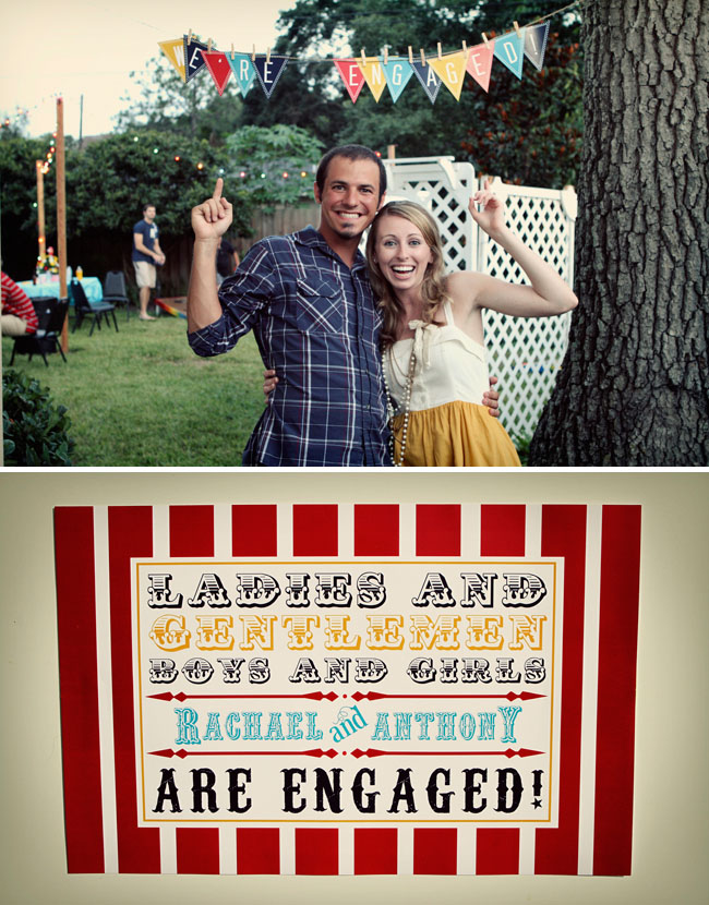 carnival engagement party