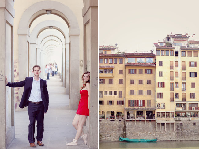 florence italy engagement photos