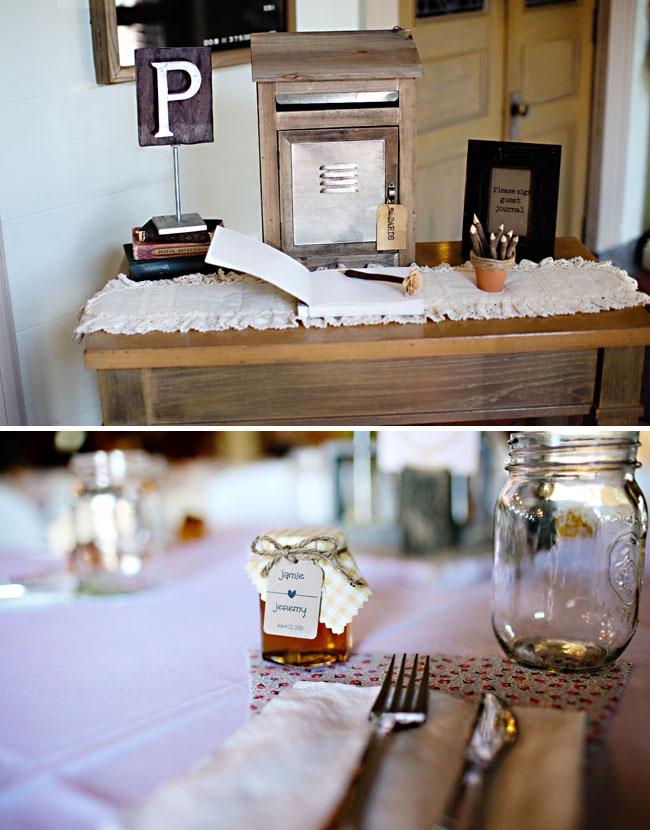 Real Wedding Jamie Jeremy S Rustic Diy Wedding