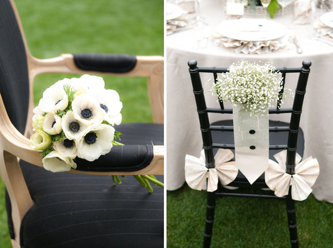 anemones bouquet wedding
