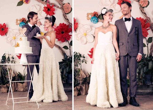quail bridal gown